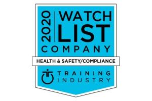 Training Industry Health & Safety Training Watch List 2020