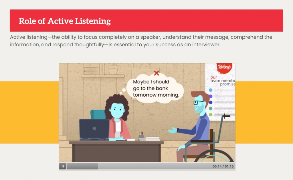 Role of Active Listening